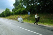 weeding - hitchhiking